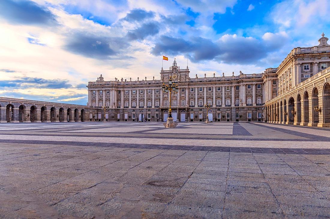 Королевский дворец в Мадриде